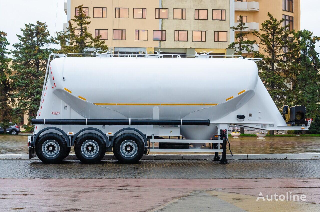 new GUVEN Milenium flour tank trailer