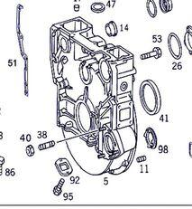 clutch for MERCEDES-BENZ Actros 4-Ejes 6-Cil. Serie/BM 4143 (8X8/4) OM 501 LA [12,0 Ltr. - 315 kW V6 Diesel (OM 501 LA)] truck