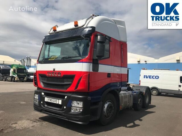 IVECO Stralis AS440S46TX/P17,5 tractor unit
