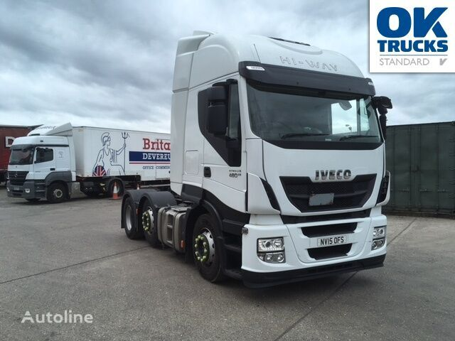 IVECO Stralis AS440S48TX/P tractor unit