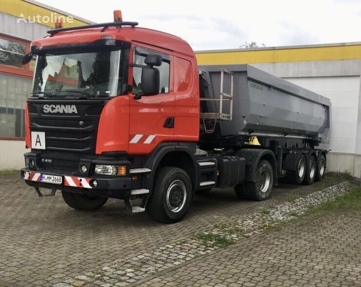 SCANIA G410 tractor unit