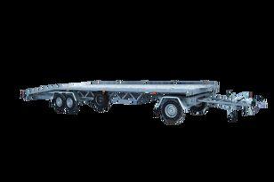 new LEV Львица car transporter trailer
