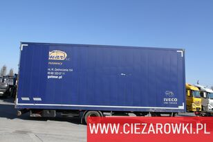 ROHR Acord PC4500 , 8,2m , 20 epal , wabco , double bolt , 1 owner  closed box trailer