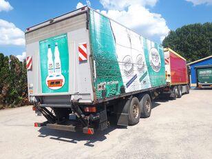 SOMMER Boese Tail Lift Tandem Drinktransporter closed box trailer
