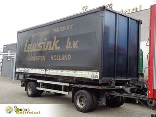 ESVE AHWC 10L-10L + 2 axle container chassis trailer