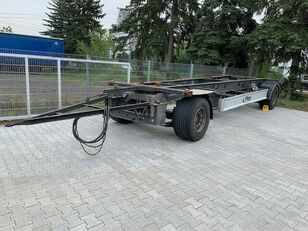 FLIEGL ZWP 180, BDF Jumbo Wechselfahrgestell container chassis trailer
