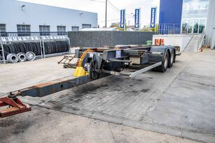 TROUILLET PORTE CONTAINER - TANDEM container chassis trailer