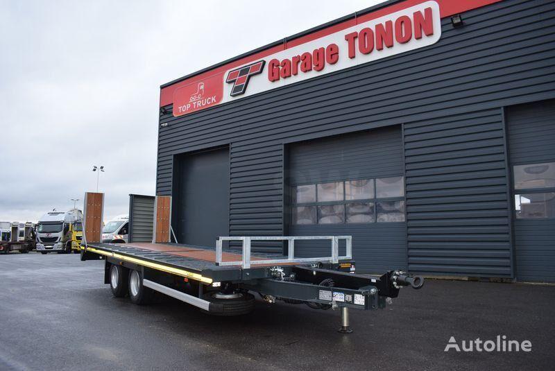 new GOURDON PEB 190 equipment trailer