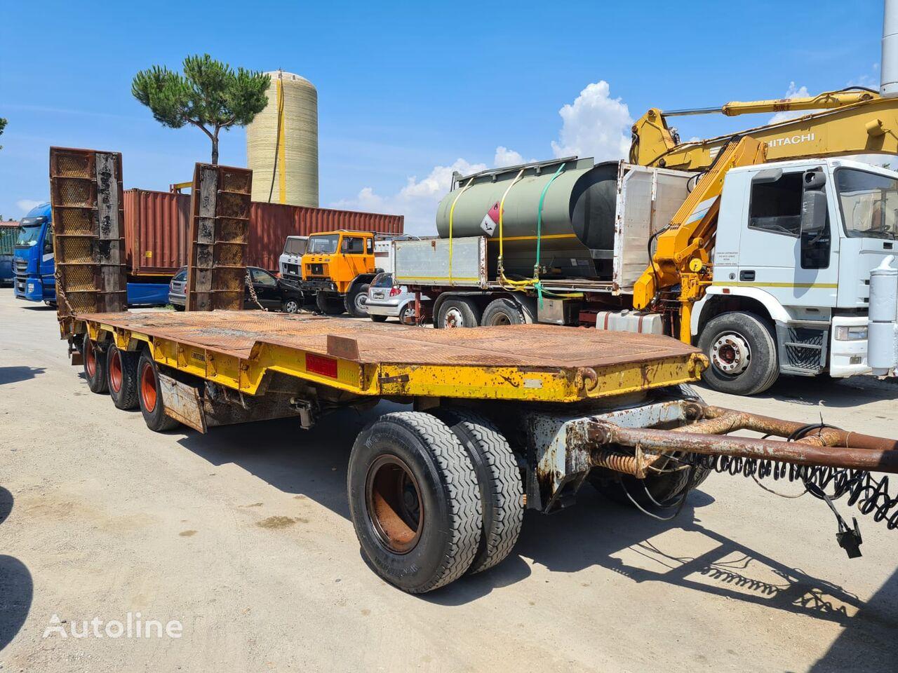 COMETTO GR4 flatbed trailer
