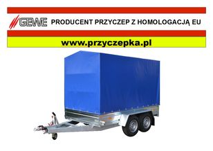new GEWE P3500 C/1 Przyczepa 2 osiowa, hamowana flatbed trailer