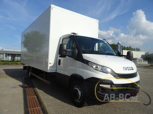 IVECO 70C18 6.10 box with lift automatic  box truck
