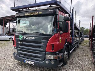 SCANIA P400 car transporter