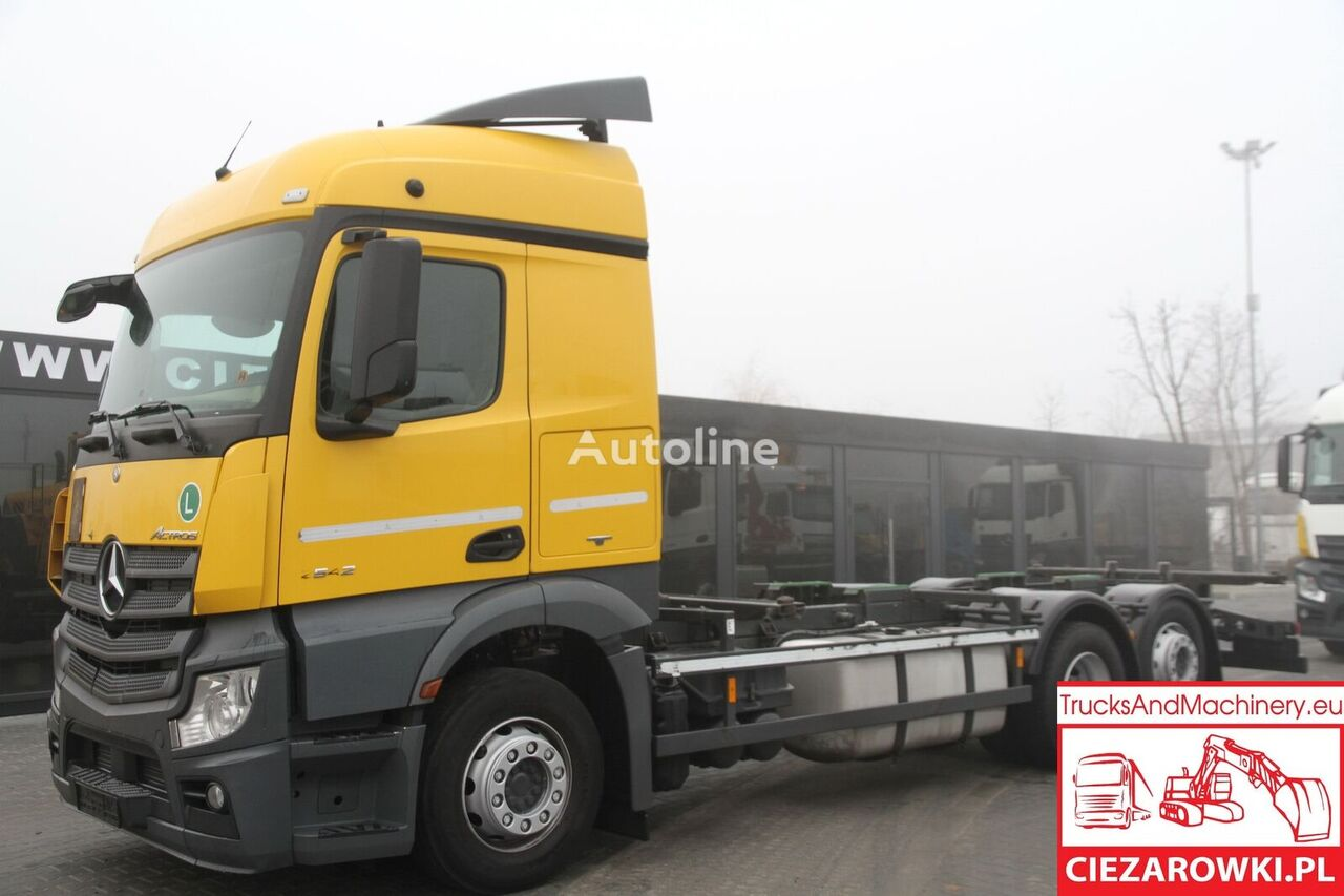 MERCEDES-BENZ ACTROS 2542 MP4 E6 BDF RETARDER BDF CHASSIS chassis truck