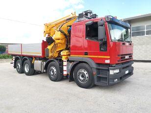 IVECO 440E42 - Gru EFFER 680 / 22 Tons - 35 m dump truck