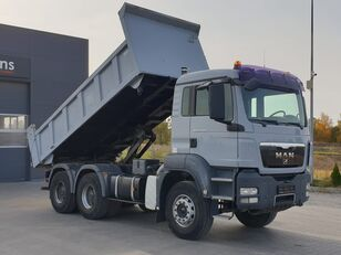 MAN TGS 33.360 / 6x4 / Hydroburta / Manual / 3 -strony Wywrot / Spro dump truck