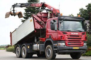 SCANIA P340 !!6x4!!4X4!!6X2!! KRAAN/KIPPER!!EURO5! dump truck