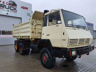 STEYR 1491-MAN, Full Steel 6x6, Manual Pump  dump truck