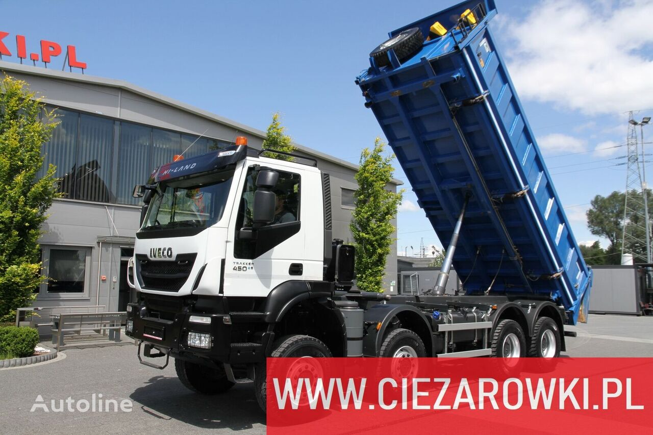 IVECO Trakker 450 , E6 , 8x8 , 3-side tipper , retarder 15 UNITS FOR S dump truck