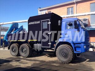 new KAMAZ 43118 с КМУ ИМ-150 flatbed truck