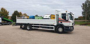 RENAULT Premium 380 DXI flatbed truck