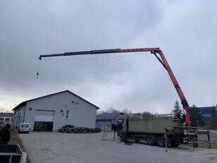 MAN TGA 26.480 Montagekran  Palfinger 25001 EL 6x4 Pilot selwinde 25 flatbed truck
