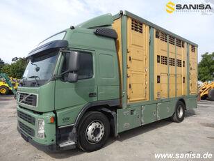 VOLVO FM420/Menke-Janzen Viehtransporter 3Stock livestock truck
