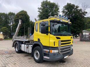 SCANIA P320 skip loader truck