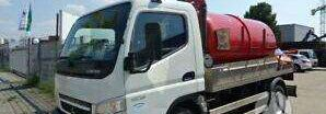 MITSUBISHI CANTER 7C15 tanker truck